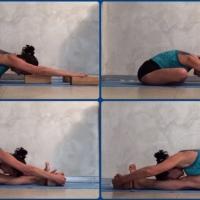 Iyengar Yoga, coronavirus, come praticare senza lezioni. 3: posizioni in avanti